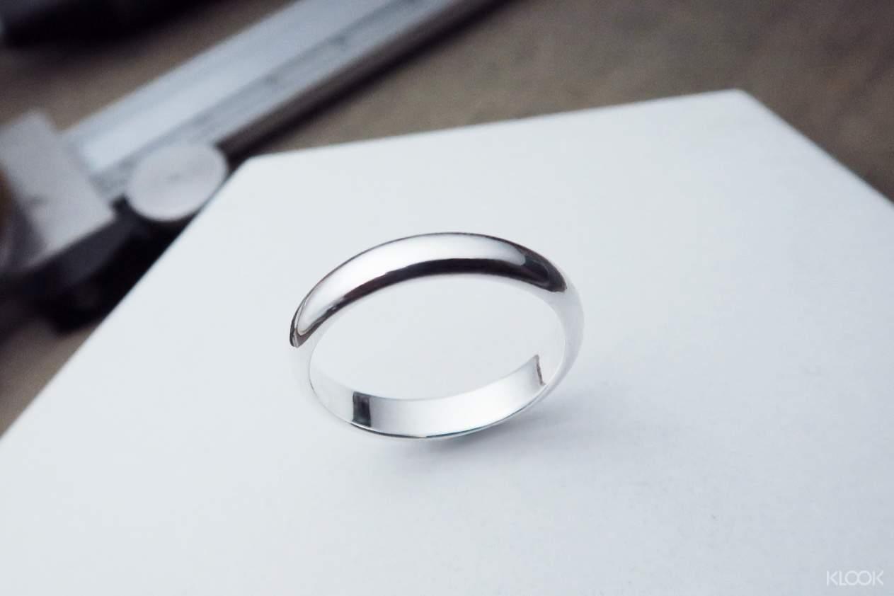 特別的日子,親手製作銀戒指送自己或特別的人