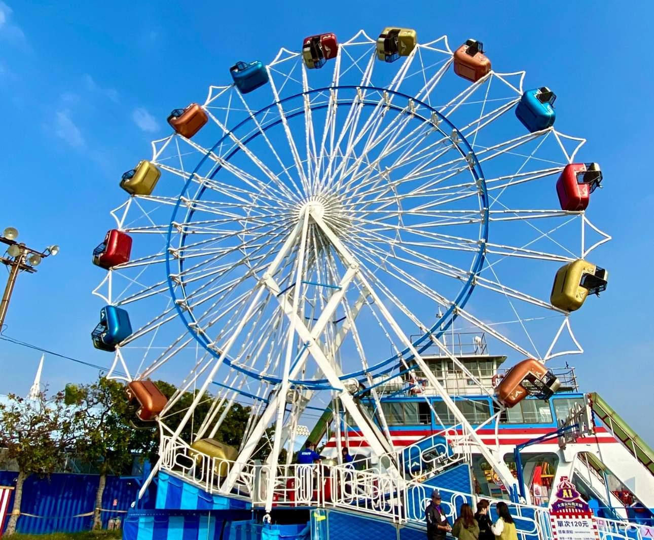 25公尺8層樓高、車廂會360度旋轉的《Sky Diver瘋狂尖叫摩天輪》,等你來挑戰!