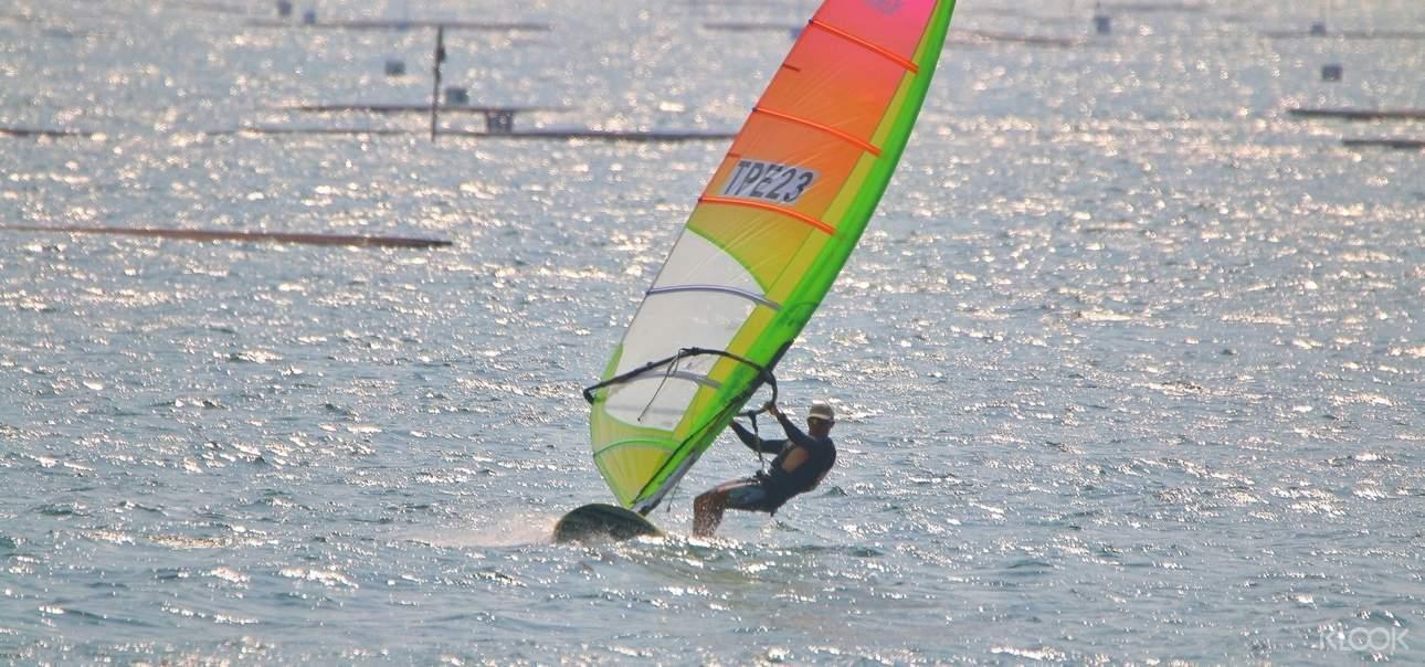 風帆,讓你的身體與風結為一體,感受大自然帶給你的方向