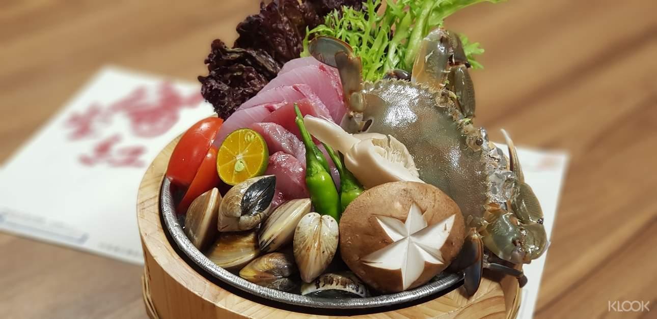 除了店內優質肉類,其他海鮮、蔬菜等一樣新鮮!