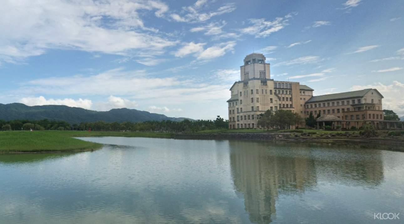 走訪東華大學,欣賞依山傍河的優美景致