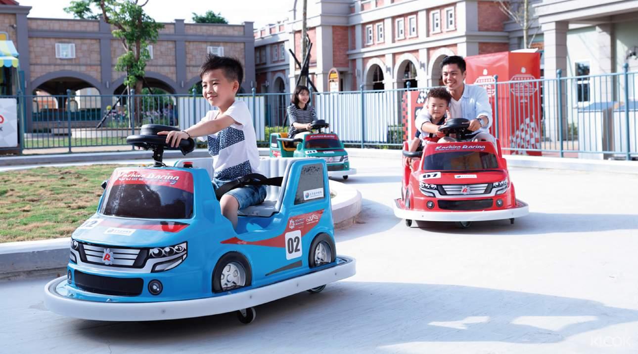 鈴鹿賽道樂園是唯一獲日本鈴鹿賽車場海外授權的樂園,設施多樣、刺激有趣