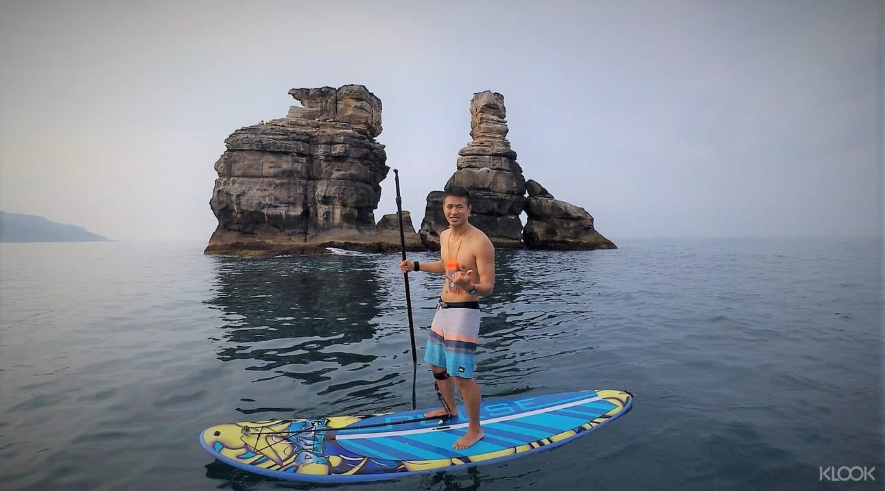 沒有衝浪經驗者也能輕鬆享受滑行水上的樂趣