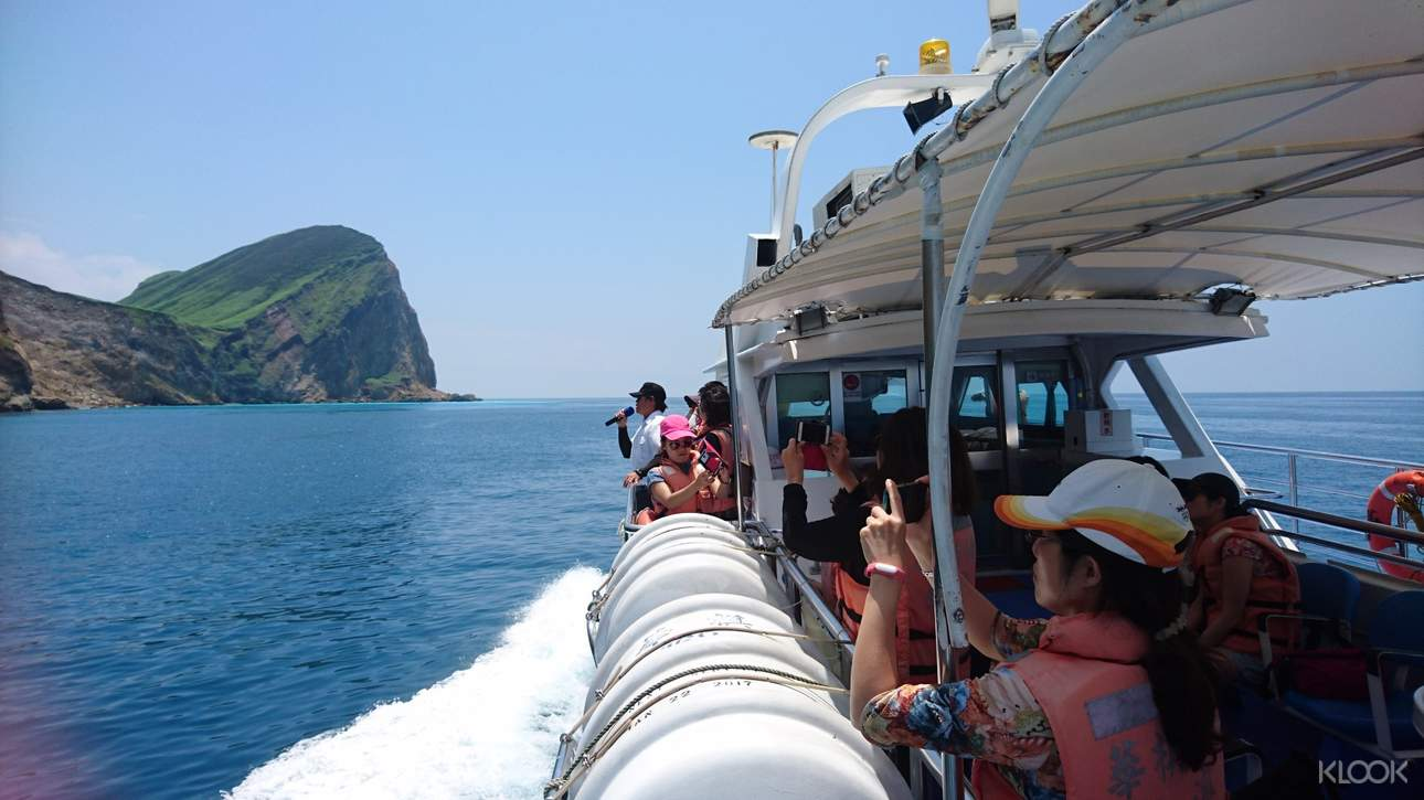 從各種不同的角度觀賞龜山島八景