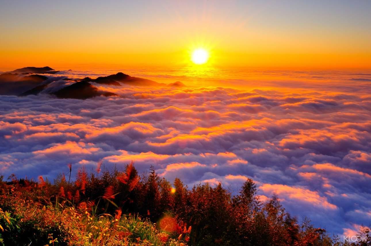阿里山看日出是國內外遊客皆爭相一睹的重點行程