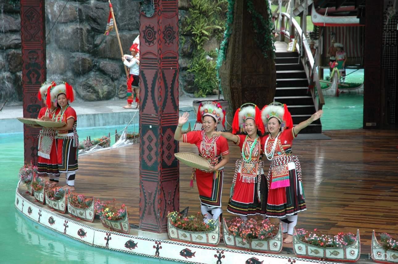 欣賞台灣原住民傳統表演,深入認識豐富多彩的原民文化