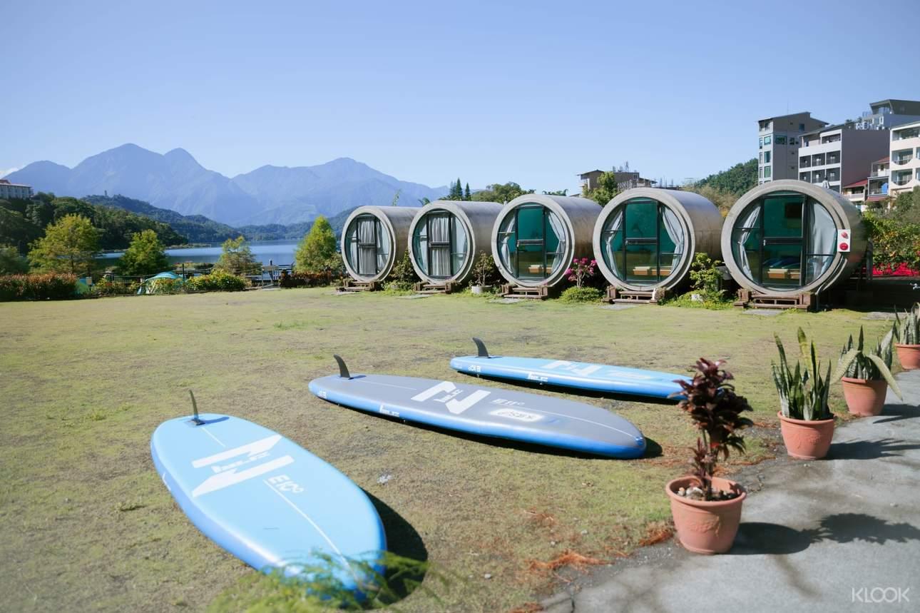挑戰日月潭SUP立槳體驗,近距離感受如詩如畫的湖光山色