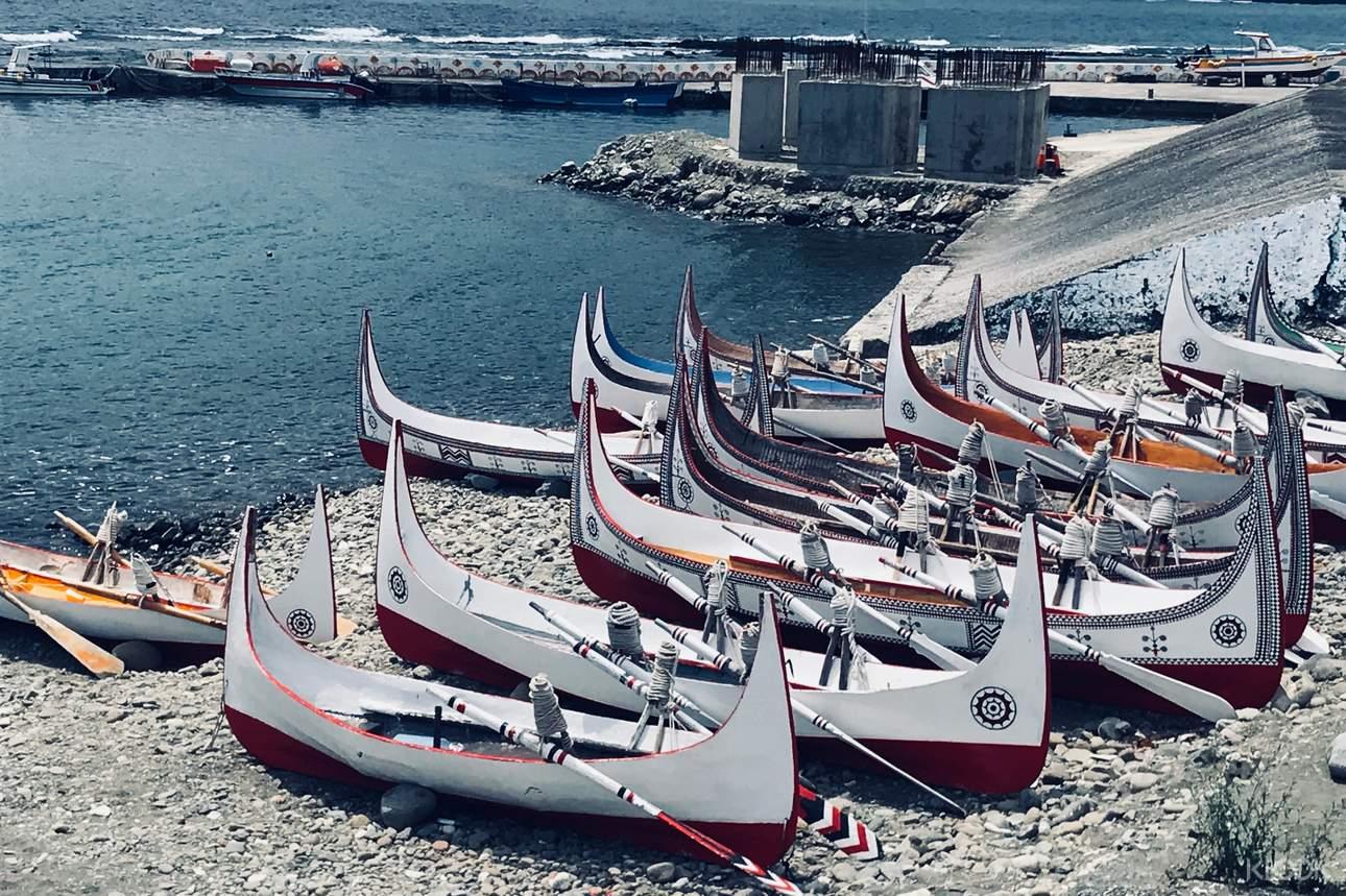 拼板舟的製作充分展現了雅美人的民俗植物知識和精湛的工藝技術
