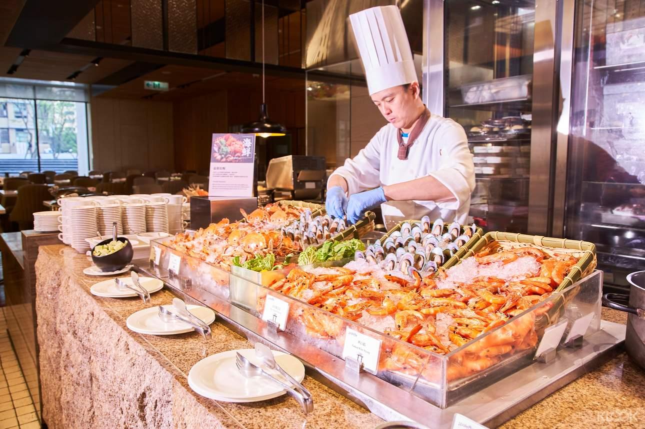 美福飯店彩匯自助餐廳
