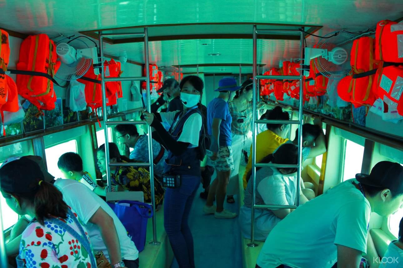 航行於蔚藍迷幻的大海中,讚嘆豐富多元的海洋生態