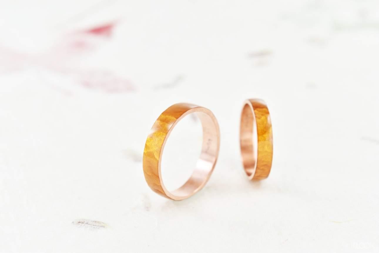 為心愛的對方打造專屬彼此的手作銀飾