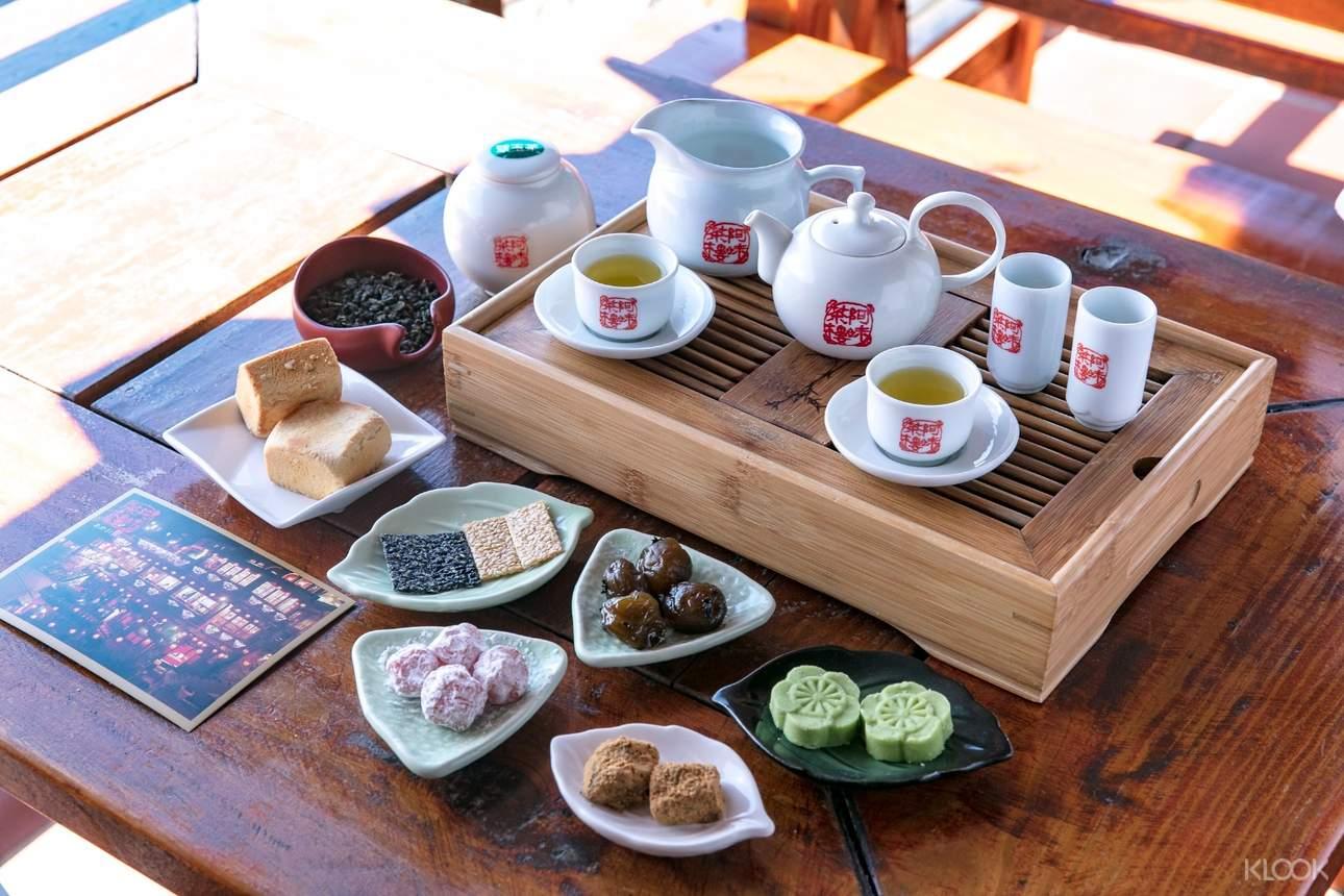 美味又好看的各式糕點,配上一壺或濃或淡的茶,時間在不知不覺間悄悄溜走