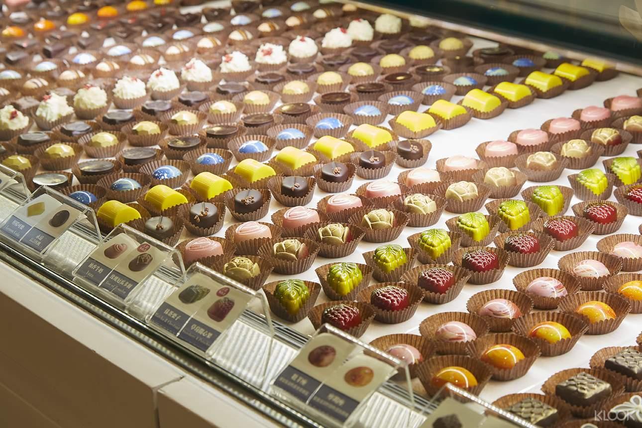 多種巧克力口味雲集,熱愛巧克力的甜食控必訪