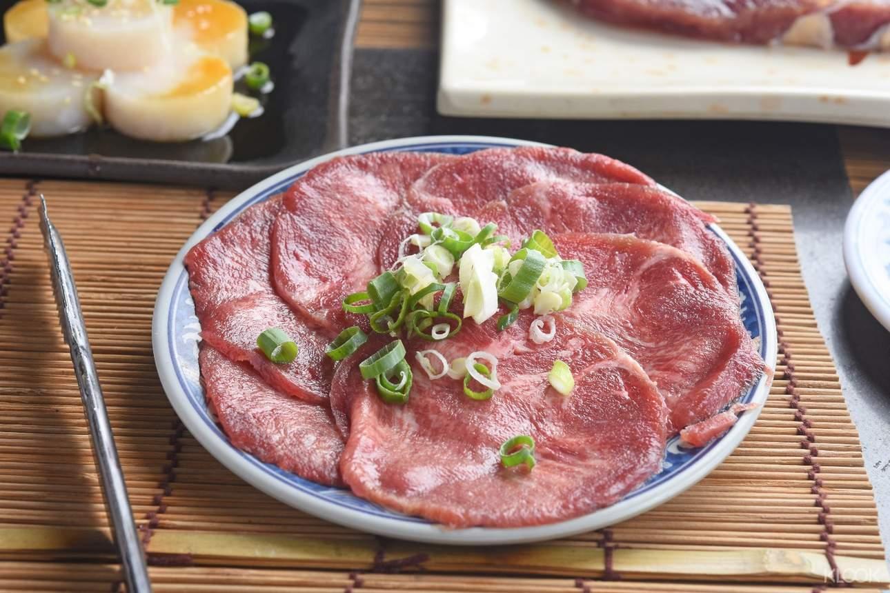 胖肚肚燒肉吃到飽 - 牛舌
