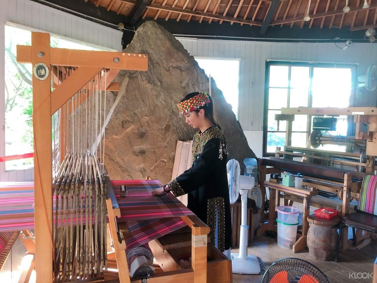 走進部落休閒農場,認識布農族傳統手工藝