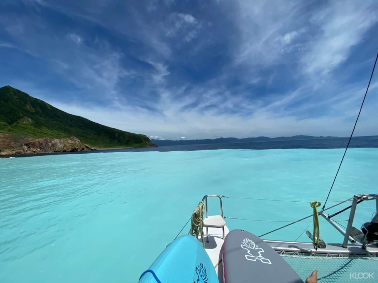 乘坐帆船探索牛奶海,度過悠閒奢華的輕旅行時光(帆船方案)