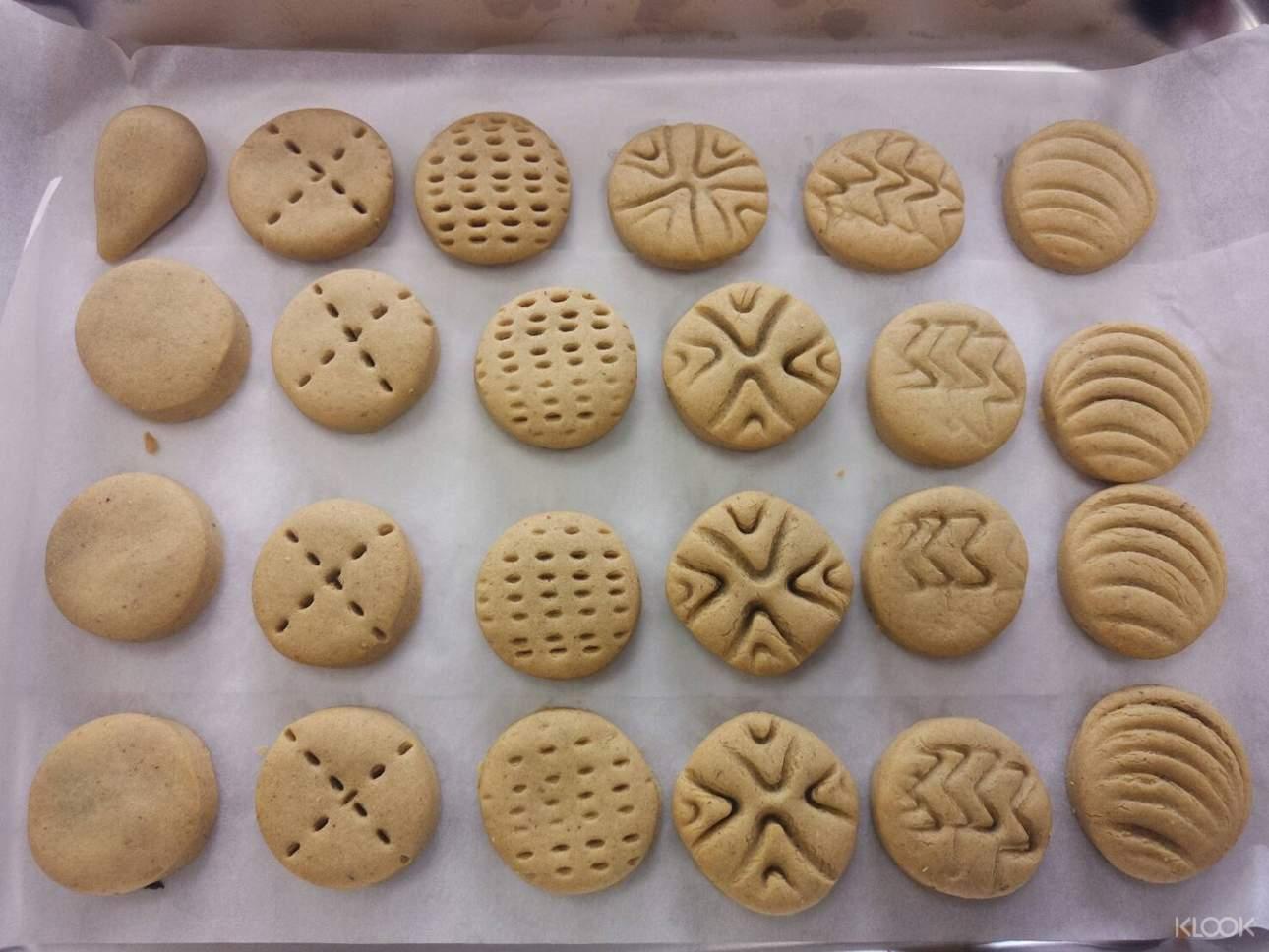 自己動手做出地瓜Q球,可愛造型餅乾
