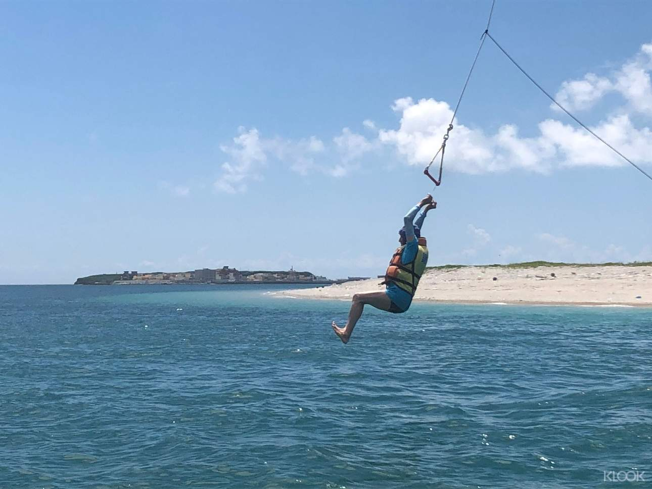 海島行程當然少不了刺激的水上活動,清涼又消暑