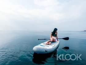 澎湖|山水沙灘SUP立式划槳日光&夕陽體驗