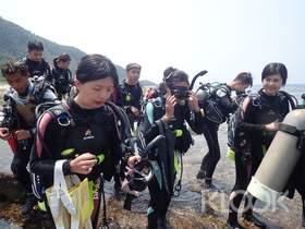 【綠島】藍莎潛水中心FUN DIVE 岸潛/夜潛旅遊潛水(需潛水執照)