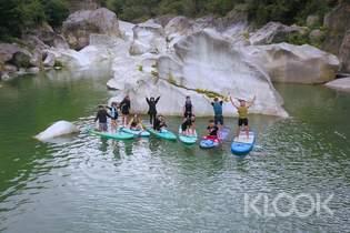 台東小冰島 馬武窟溪SUP立式划槳體驗