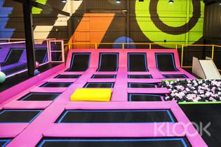 台中Air Gene空氣基因健身育樂中心彈跳床體驗