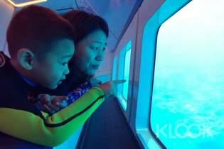 小琉球|玻璃船半潛艇體驗&海洋探索