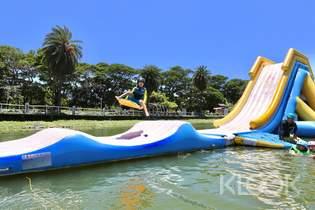 高雄 蓮潭滑水主題樂園 纜繩滑水&SUP立式划槳&多項水上活動