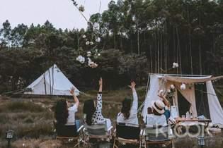 惠州南崑山樣可精緻露營體驗(攝影師抓拍 & 森系營地 & 山野下午茶 & 手衝咖啡 & 星空BBQ & 24小時熱水洗浴)
