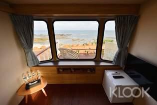 澎湖覓海灣:無邊際海景露營車體驗