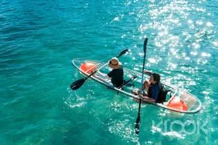 限時79折|澎湖|東海無人島跳島&透明獨木舟一日遊
