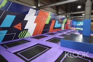 台南Air Gene空氣基因健身育樂中心彈跳床體驗