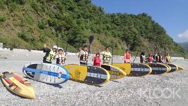宜蘭 東澳灣SUP立式划槳體驗