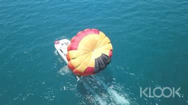 限時76折|澎湖|海上拖曳傘飛行體驗