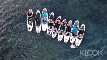 澎湖嵵裡沙灘|波賽頓日光・夕陽SUP立式划槳體驗