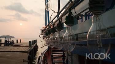 限時56折|澎湖|夜釣小管體驗