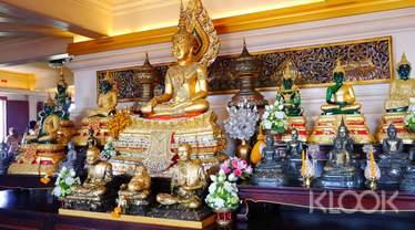 Bangkok Wat Saket (Golden Mount Temple) and Tuk Tuk Half-Day Tour by AK Travel