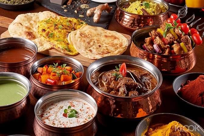 美福飯店彩匯自助餐廳 - 印度美饌